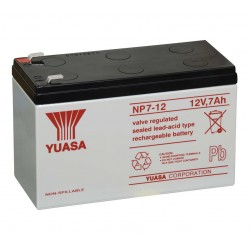 Bateria  12 Volt - 7 Amp YUASA YB7A12