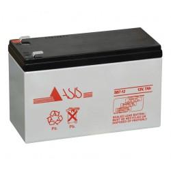 Bateria 12 Volt - 7 Amp ASIS DB7A12