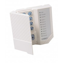 Teclado LED de 8 Zonas DSC PC1555RKZ