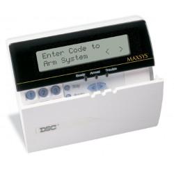 Teclado Alfanumérico LCD de 128 Zonas DSC MAXSYS LCD4501