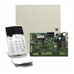 Central Alarma  CROW PCBRUN4 & Teclado CR16