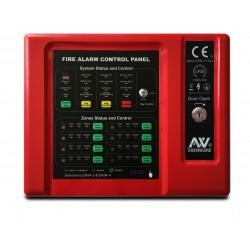 Panel Incendio Convencional 8 zonas  ASENWARE CFP2166-8C