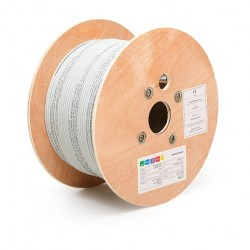 Cable RG59 C/ alimentación 0.75, cobre,  305 metros ASIS RGA59