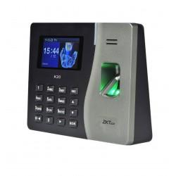 Controlador de acceso biométrico tiempo & asistencia  ZK  K20