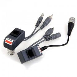 Video Balun Pasivo + DC & Audio VSL V206