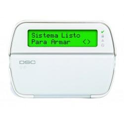 Teclado Alfanumérico LCD de 64 Zonas DSC PowerSeries PK5500