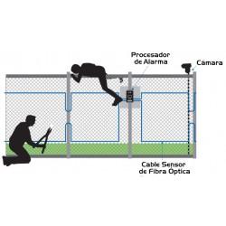Sistema detección perimetral con fibra óptica OPTEX FIBER SENSYS