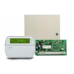 Central Alarma DSC PC1864  & teclado PK5500